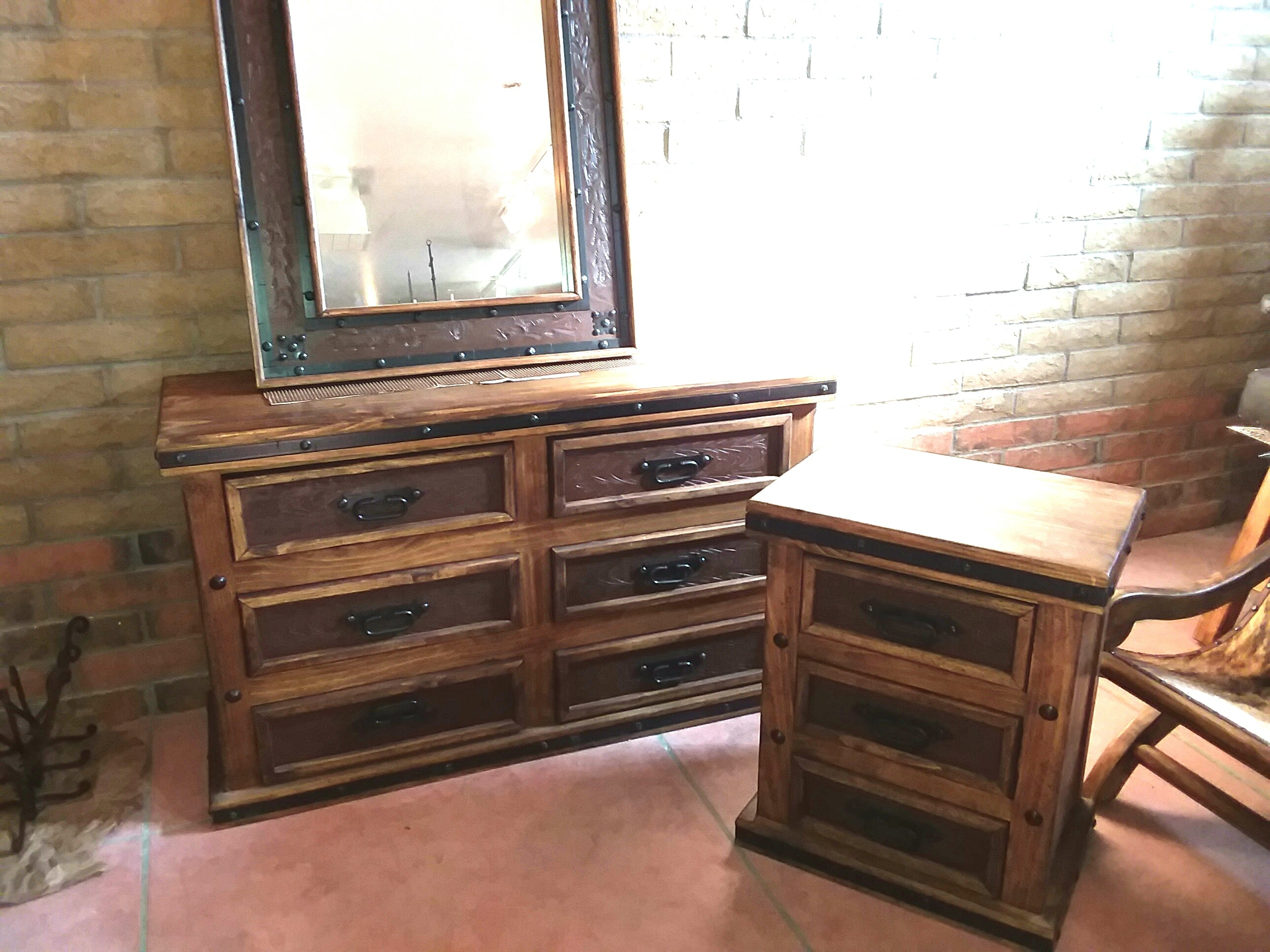 Copper Vanities and Mirrors