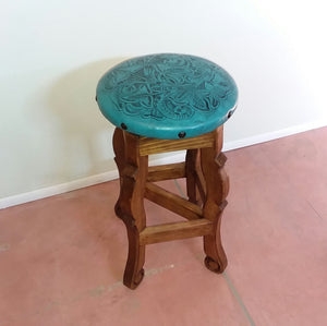 Bar Stools with Leather Designed seat