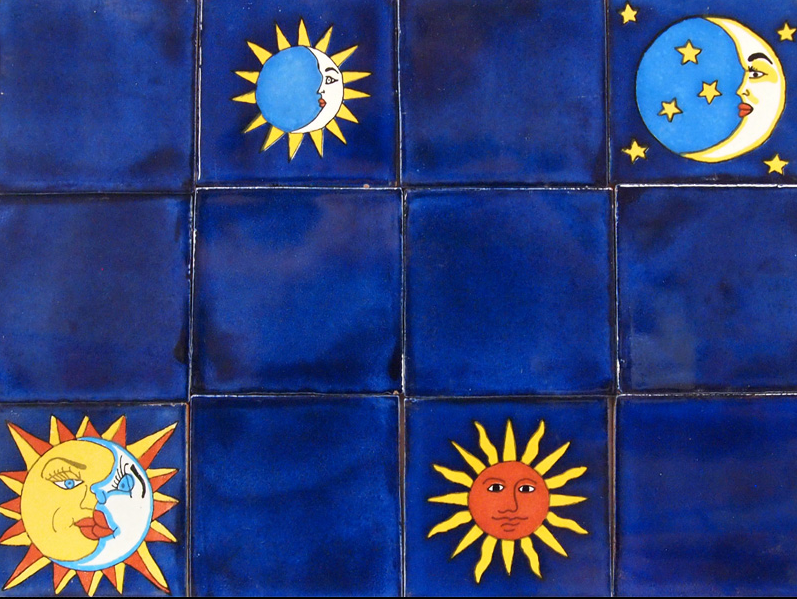 Talavera Deco Eclipse Chico