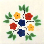 Talavera Deco White BG Bouquet