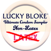 NON-LATEX (Standard Fit) Condom Sampler, Condoms - LuckyBloke.com | Global Condom Experts