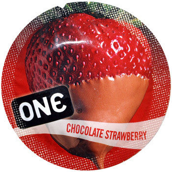 ONE | Flavor Waves: Chocolate Strawberry, Condoms - LuckyBloke.com | Global Condom Experts