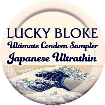 Japanese Ultrathin Condom Sampler, Condoms - LuckyBloke.com | Global Condom Experts