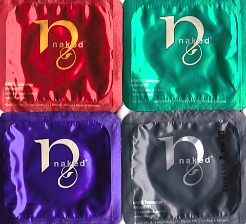 Naked | Luxury Condoms: 49, 52, 54, or 57mm