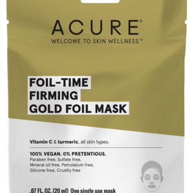 ACURE  |  Fortifying GOLD Foil Mask x1 - NEW!!
