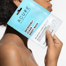 ACURE  |  CLEAR IT UP: Clarifying Sheet Mask x1 - NEW!!
