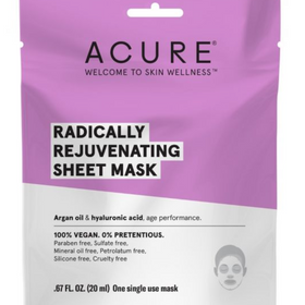 ACURE  |   Radically Rejuvenating Sheet Mask x1 - NEW!!