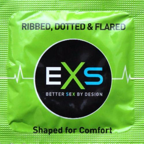 EXS | Ribbed Dotted & Flared