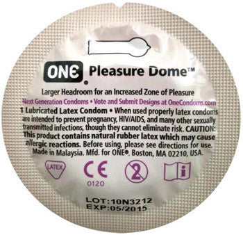 ONE | Pleasure Dome, Condoms - LuckyBloke.com | Global Condom Experts