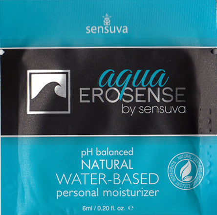 Sensuva | Erosense: Aqua, Lubricants - LuckyBloke.com | Global Condom Experts