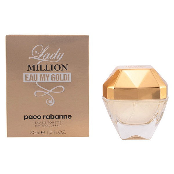 Women's Perfume Lady Million Eau My Gold! Paco Rabanne EDT