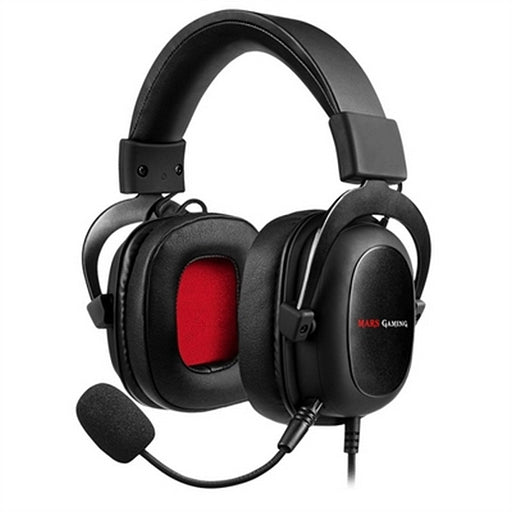 Gaming Headset with Microphone Mars Gaming MH5 (3.5 mm) Black