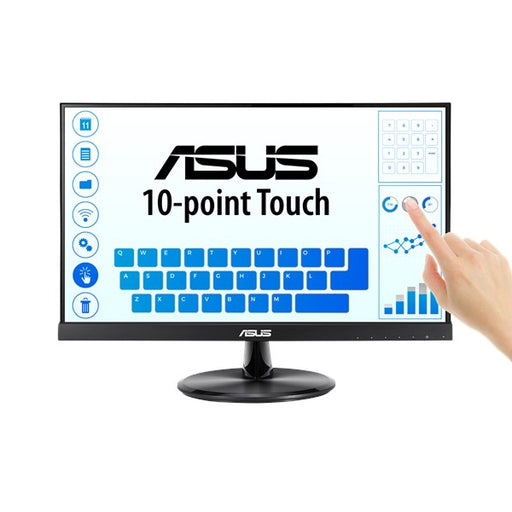 "Touch Screen Monitor Asus VT229H 21,5"" Full HD IPS HDMI Black"