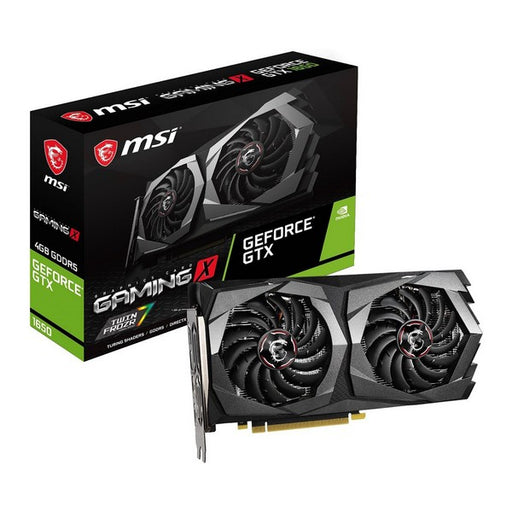 Gaming Graphics Card MSI NVIDIA GTX 1650 4 GB GDDR5