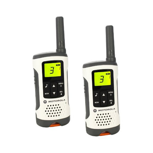 Walkie-Talkie Motorola T50 (2 Pcs) White Grey