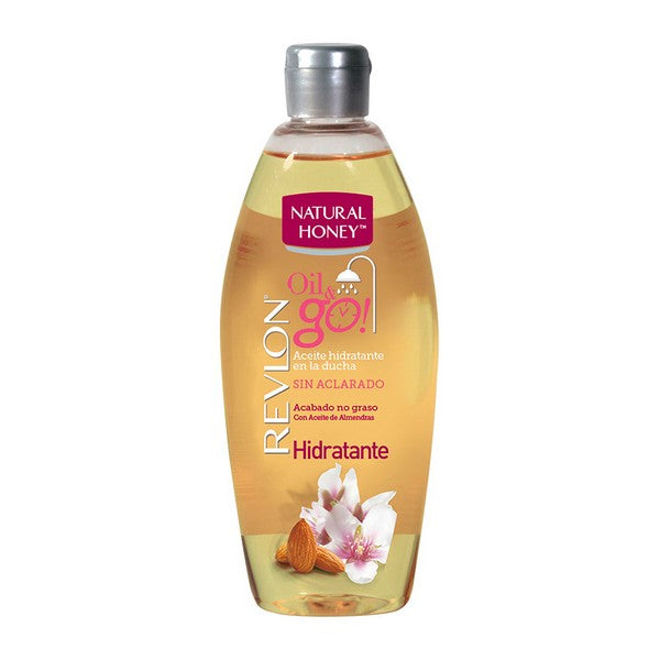 Moisturising Oil Oil & Go Natural Honey (300 ml)