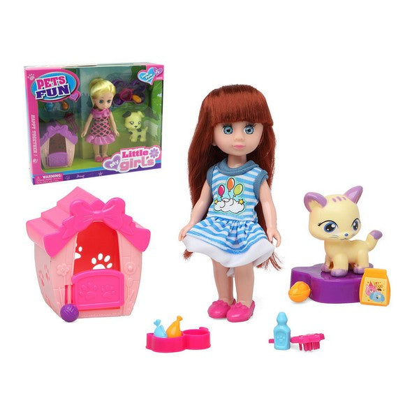 Doll with Pet Fun Pets 110623