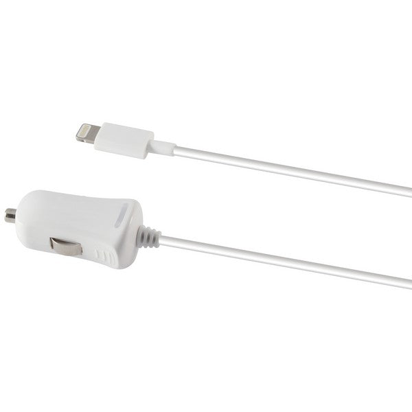 Car Charger Lightning 1a KSIX iPhone White