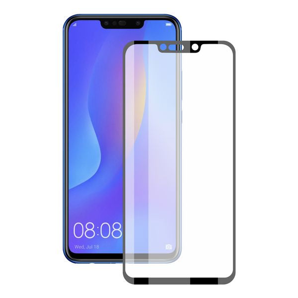 Curved Tempered Glass Screen Protector Huawei Mate 20 Pro KSIX 3D Negro