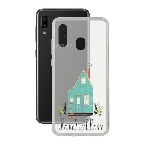 Mobile cover Samsung Galaxy A20e Contact Flex Home TPU