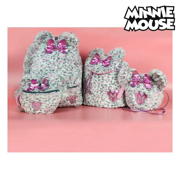 Casual Backpack Minnie Mouse 72781 Pink