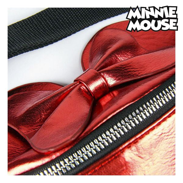 Belt Pouch Minnie Mouse 72846 Pink Metallic