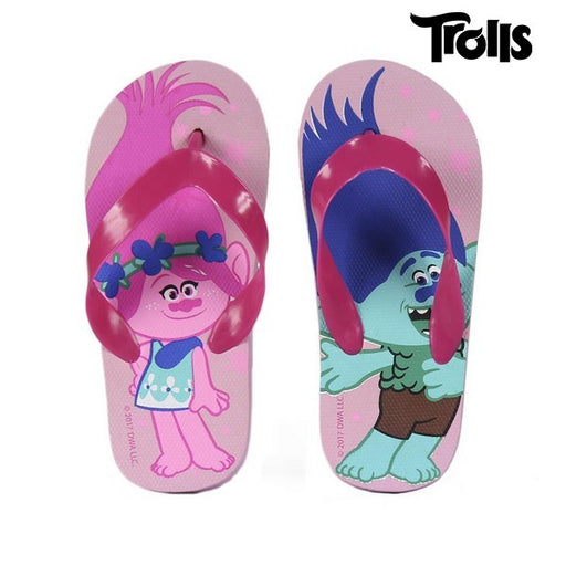 Swimming Pool Slippers Trolls 72363 Pink