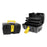 Toolbox with Compartments Bricotech Venezia Black Yellow (37 X 23 x 21 cm)