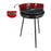 Barbecue Algon Circular Red