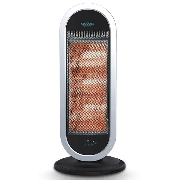 Halogen Heater Cecotec Ready Warm 7400 Quartz Sky Smart 1200W White