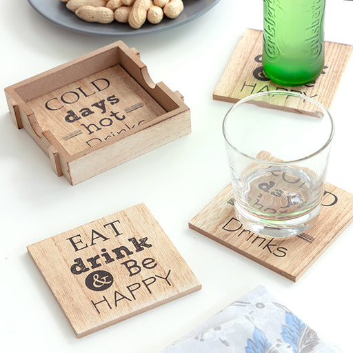 Coasters Message (Pack of 4)