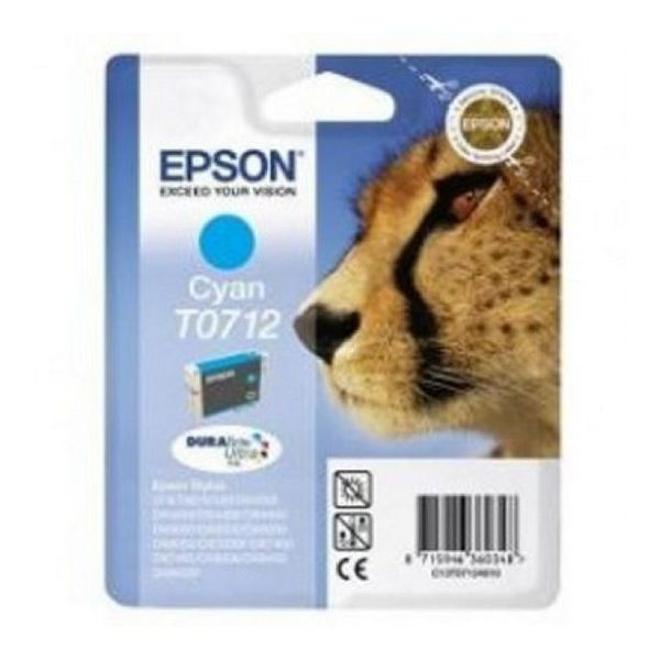 Original Ink Cartridge Epson C13T071240 Cyan
