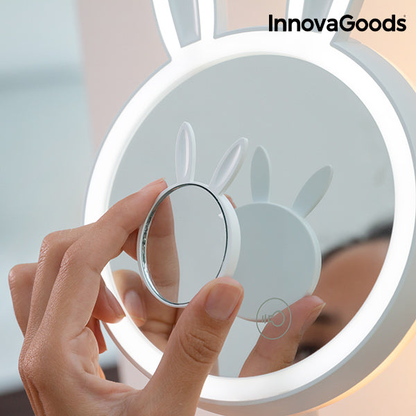 InnovaGoods Mirrobbit 2-in-1 Makeup LED Mirror