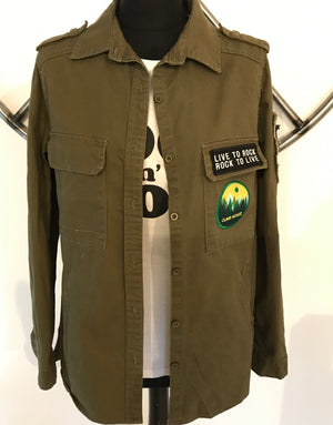 'Climb Higher' Shirt Jacket