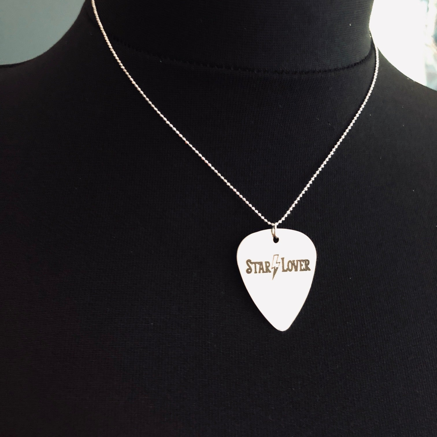 Starlover Guitar Pick Necklace
