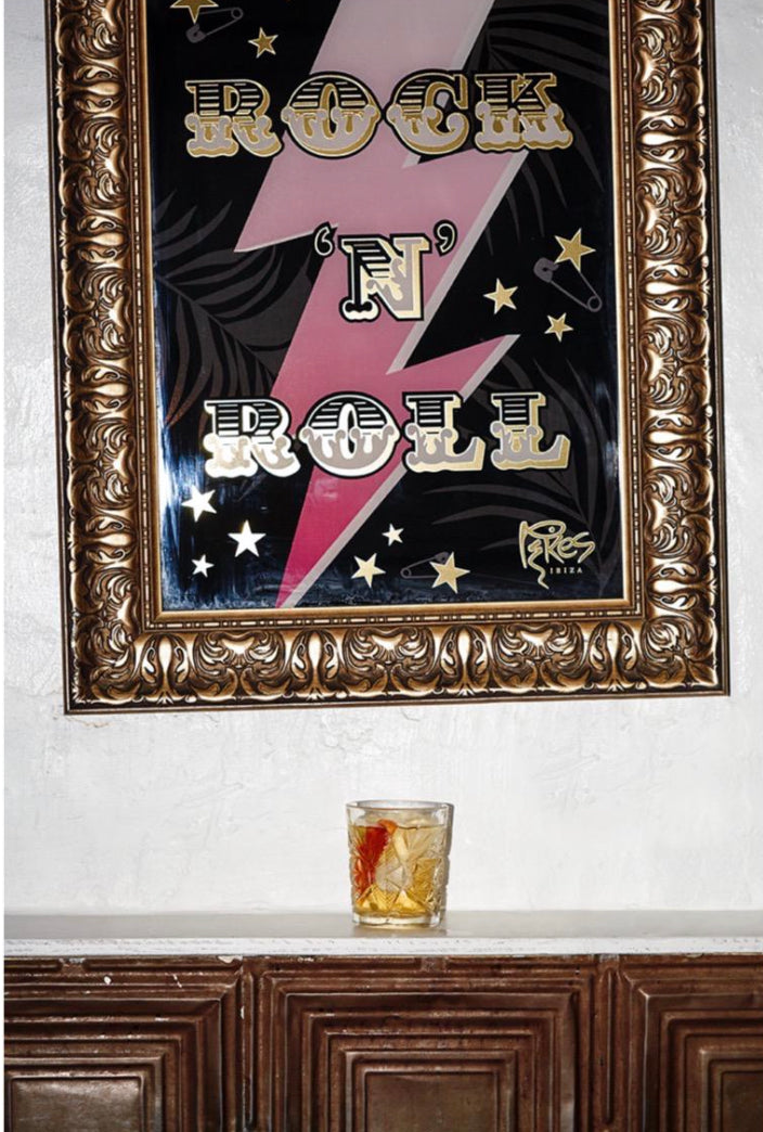 'Rock 'n' Roll' Pikes Ibiza Print. (Signed limited edition)