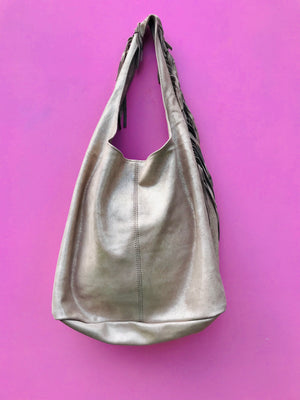 The 'Eivissa' Leather shopper