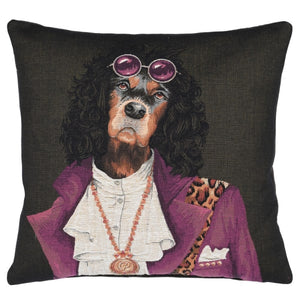 Spaniel 'Rockstar' Cushion Cover