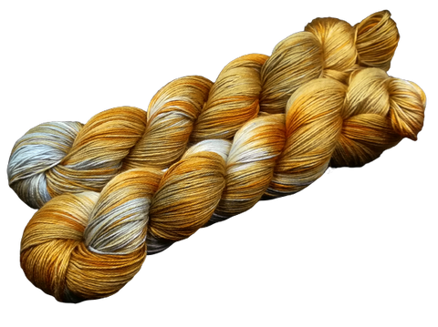 Forest At Fall - Pure Silk 4ply