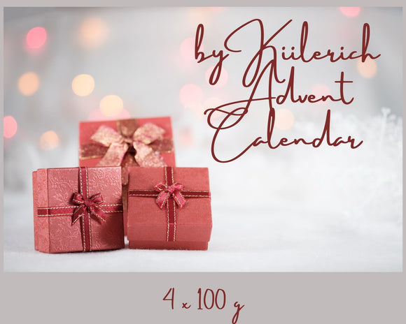 by Kiilerich Yarn Advent Calendar 2021 - 4x100g