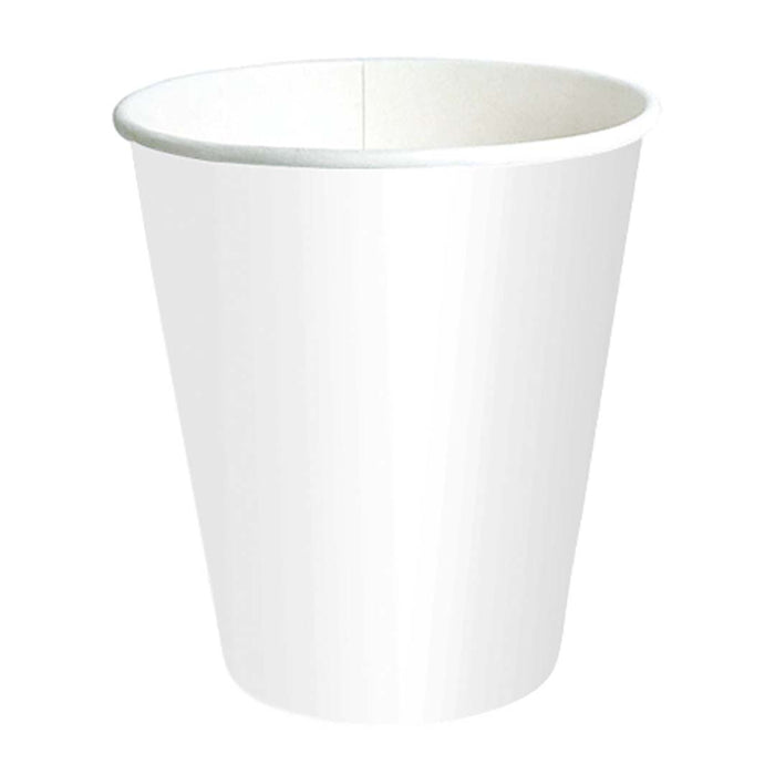 Vaso Papel Para Cafe Largo Blanco 280 Ml
