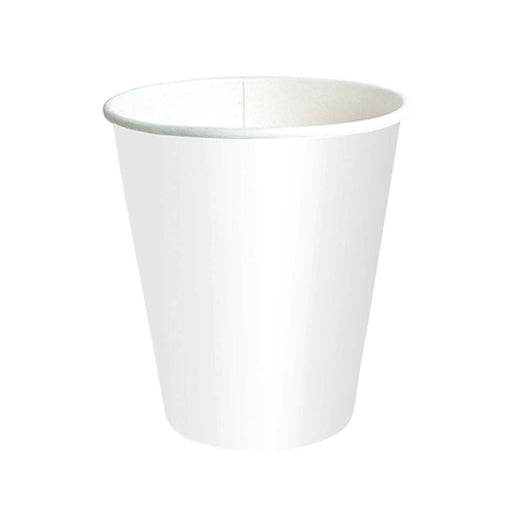 Vaso Papel Para Cafe Mediano Blanco 190 Ml
