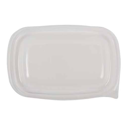 Tapa Pp Rectangular Transparente 500 Ml