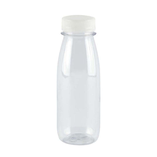 Botella PET Transparente Con Tapon 300 Ml