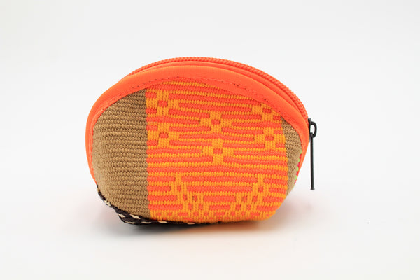 Orange Chica Wayuu Small Woven Coin Purse