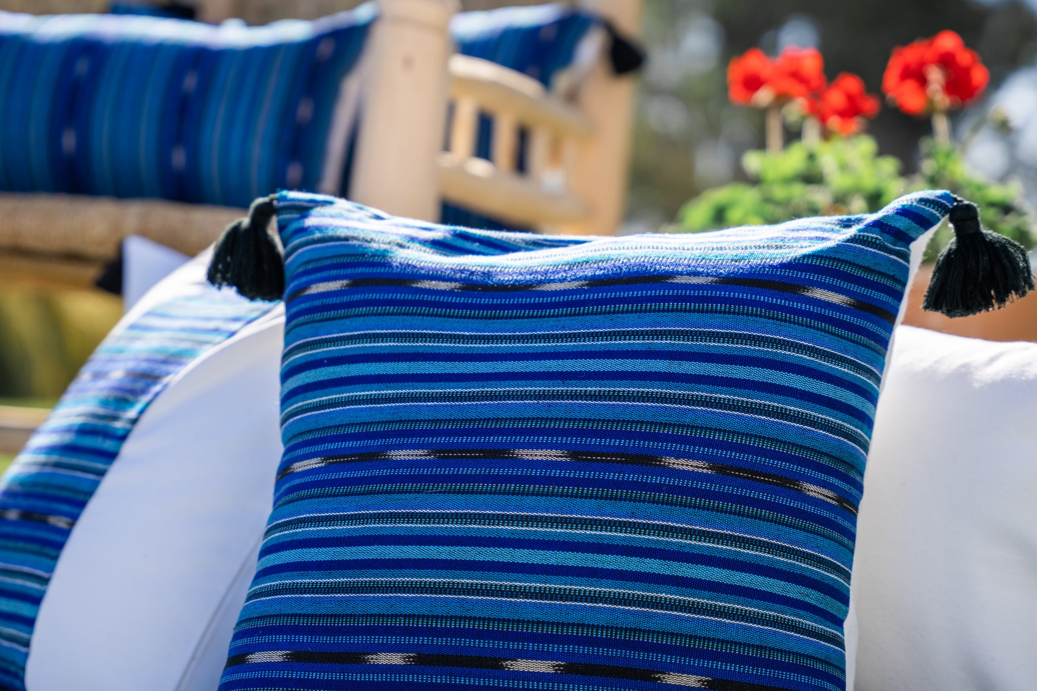 Mayan Blue Pillows