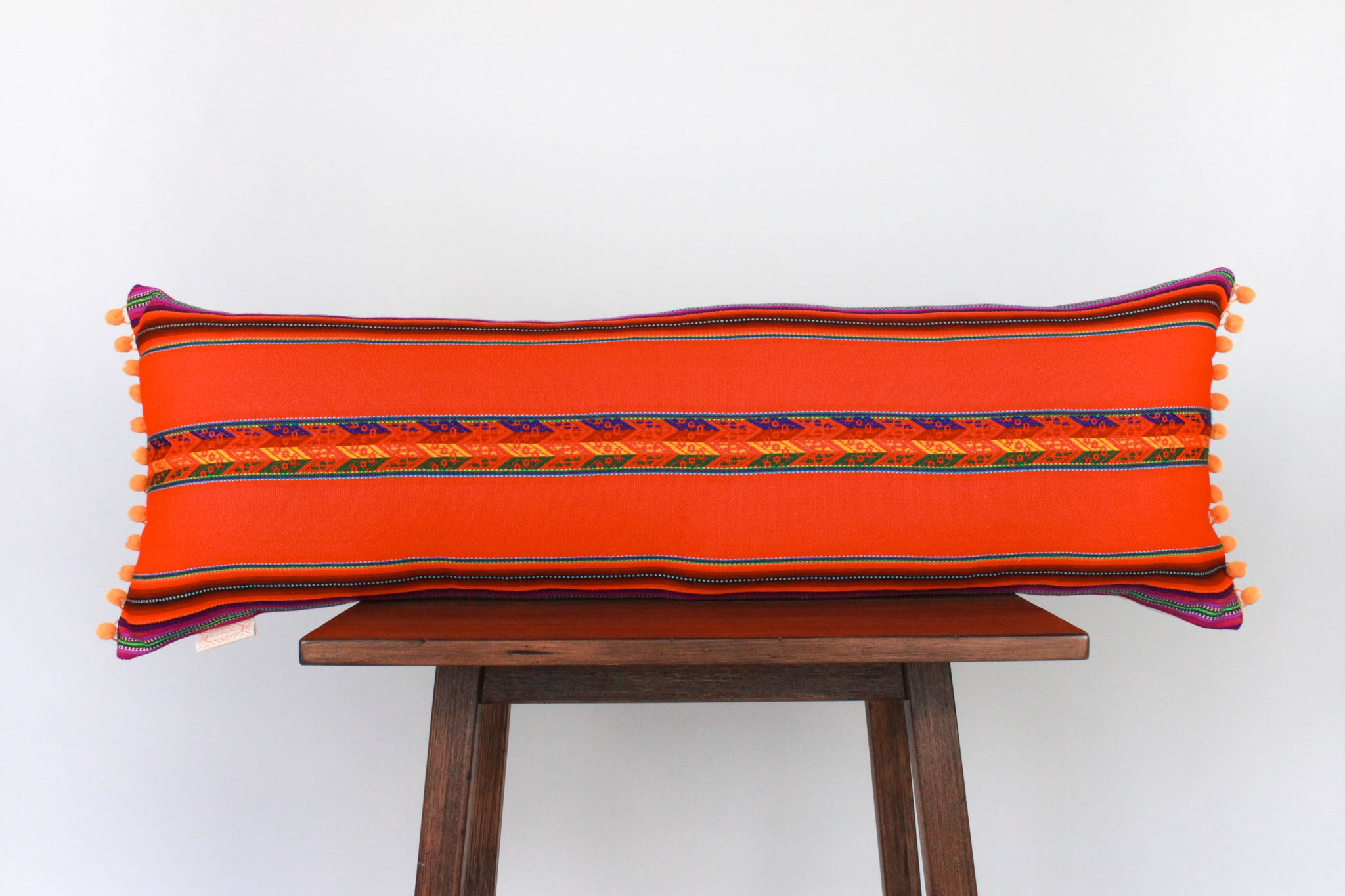 Quechua Pillows - Naranja Long Lumbar