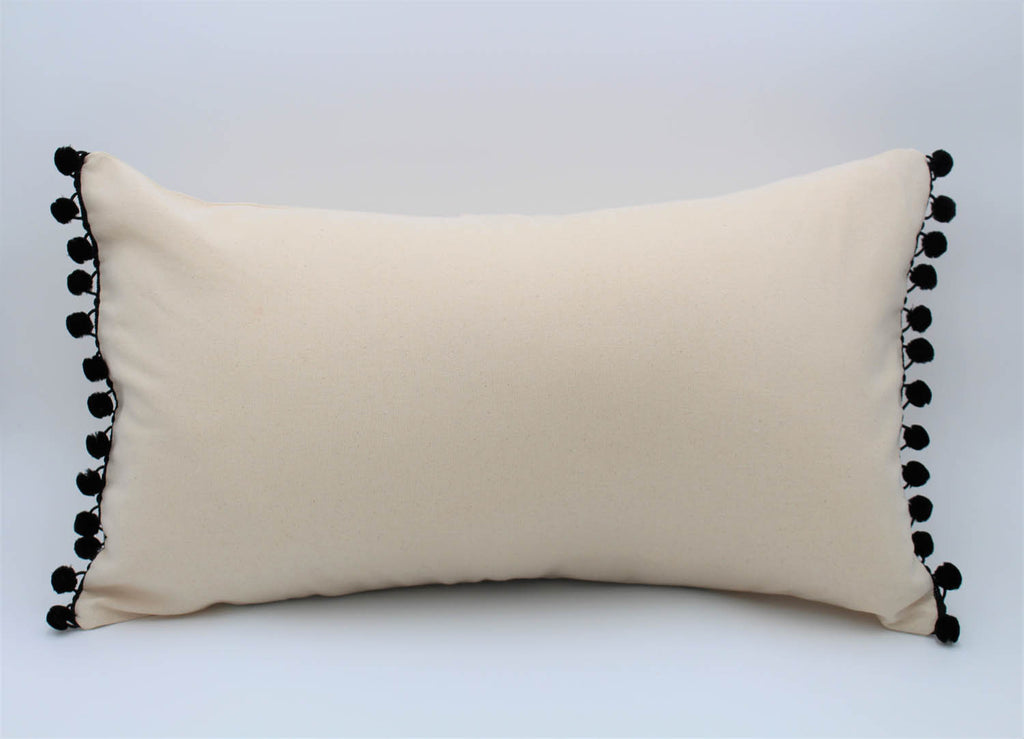 The Bogotá Pillow Collection: Solid Color Small Lumbar