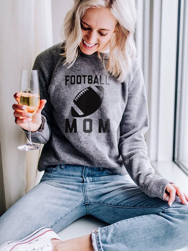 Football Mom Softness Sweatshirt
