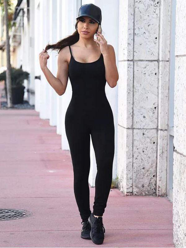 Sexy Sling Strapless Back Jumpsuits